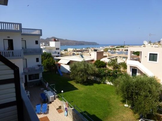 Popi Apartments : View from the balcony