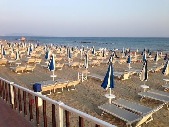 Bagno Castiglione : Spiaggia