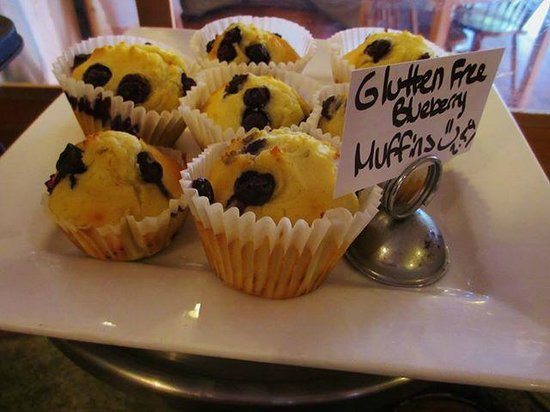 Beth's Kitchen Cafe: Glutten free items