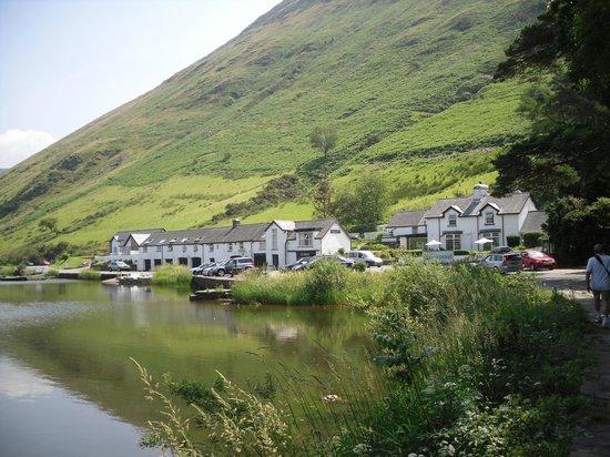 T'yn y Cornel Hotel: view of Tynycornel