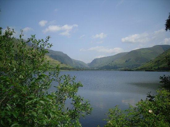 T'yn y Cornel Hotel: View of Talyllyn Lake