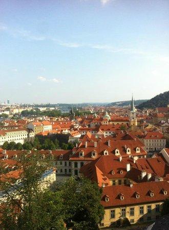 Running Tours Prague: View of Prague during the jogging tour