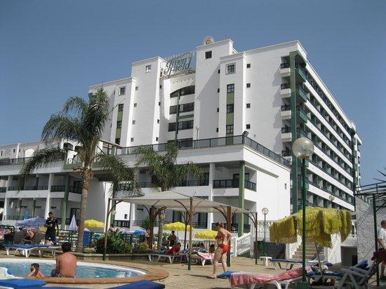 Hotel Green Field: Pool area