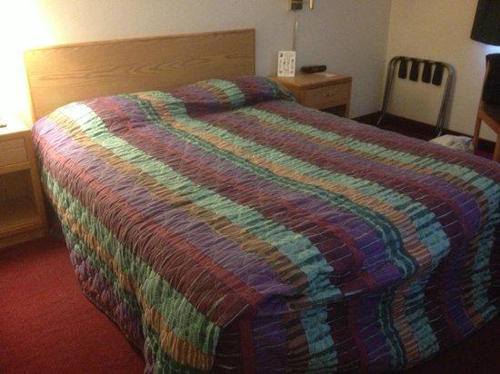 Super 8 Grand Junction Colorado: bed