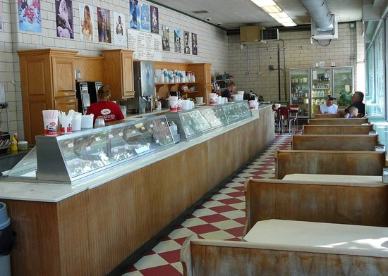 Central Dairy Ice Cream Shop Jefferson City Mo