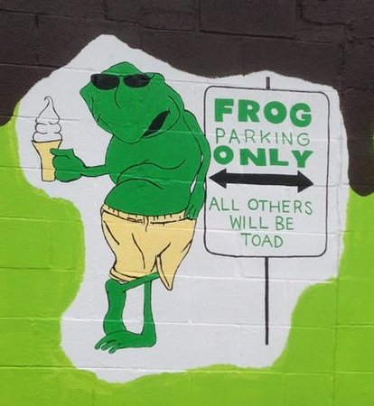 Frosty Frog : Reserved Parking