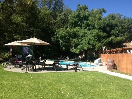 EuroSpa & Inn : Nice heated pool & spa