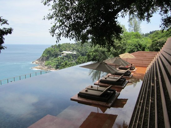 Paresa Resort Phuket : Infiniti pool