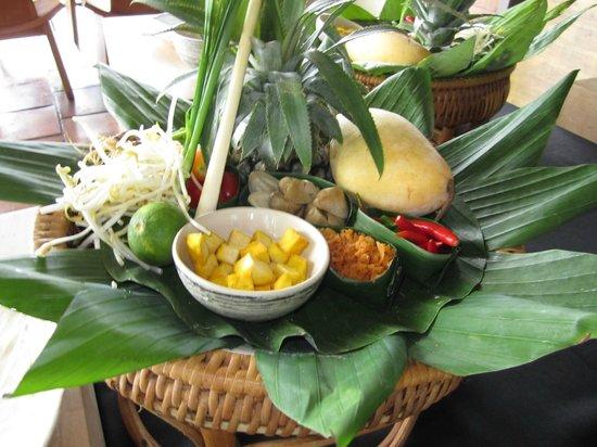 Paresa : Cooking class station