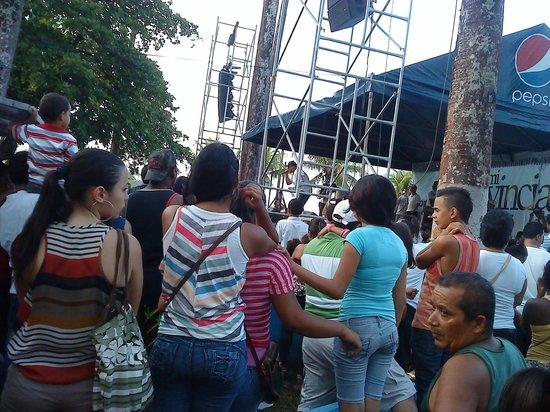 Hotel Playa Bonita: Music Event in Limon