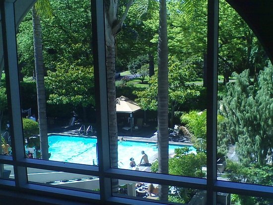 Hyatt Regency Sacramento: Overlooking the pool