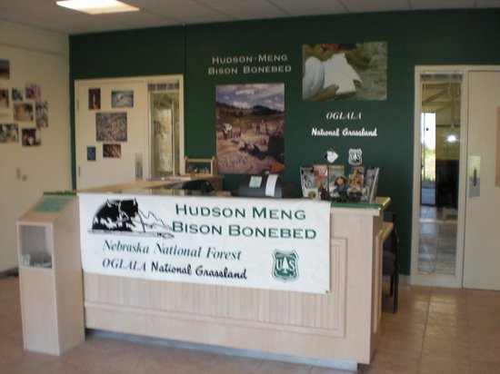 Crawford, NE: Hudson-Meng Bison Kill Office