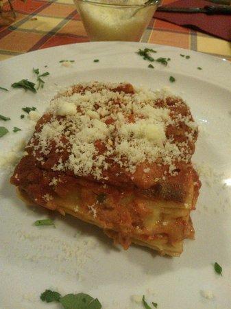 La Tavernetta: Lasagne al ragu