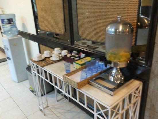 InterContinental Nairobi: refreshments in gym
