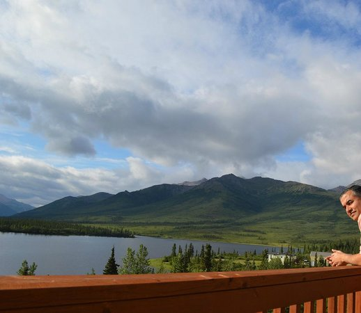 Denali Lakeview Inn : View from the Norther Sky balcony
