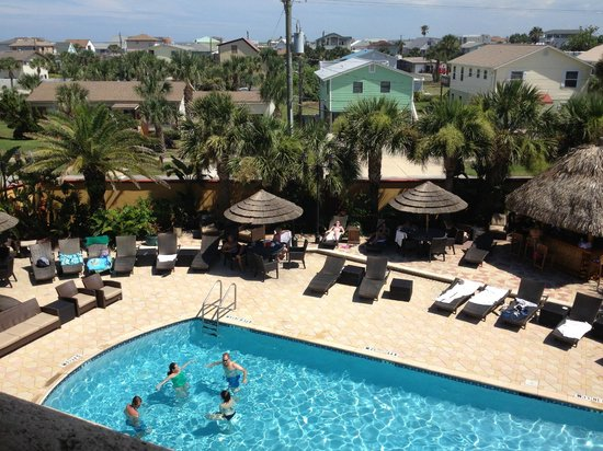 Hampton Inn & Suites St. Augustine - Vilano Beach: Pool Area