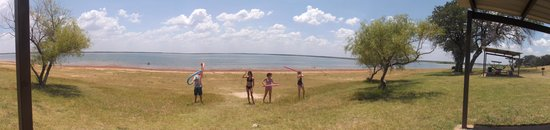 Lake Whitney State Park : The Swimming area