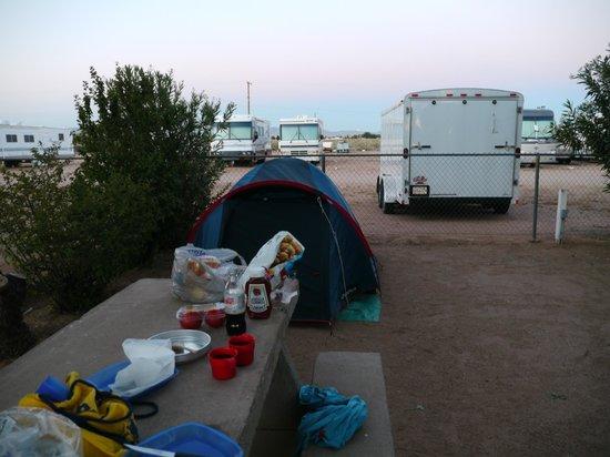 Kingman KOA : Emplacement