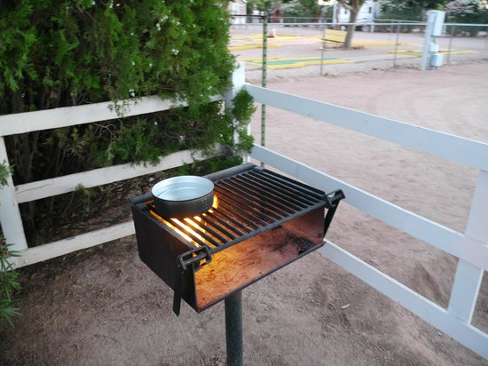Kingman KOA : Barbecue