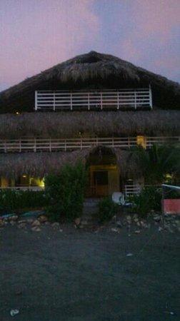 Kohsamui: Hotel visto da praia