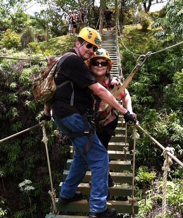Princeville Ranch Adventures: Stairway to Heaven - Reggie and Bear