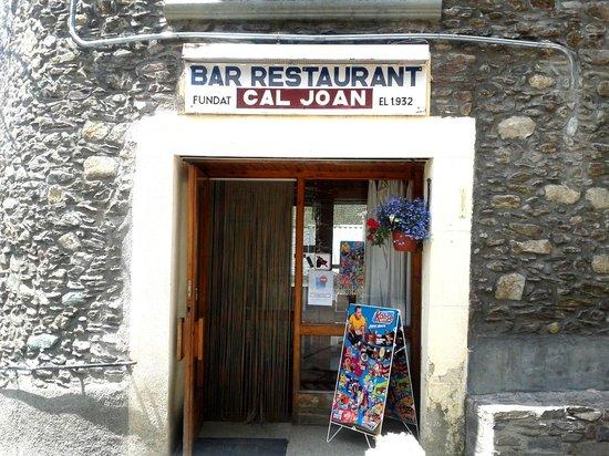 Restaurante Cal Joan: Entrada