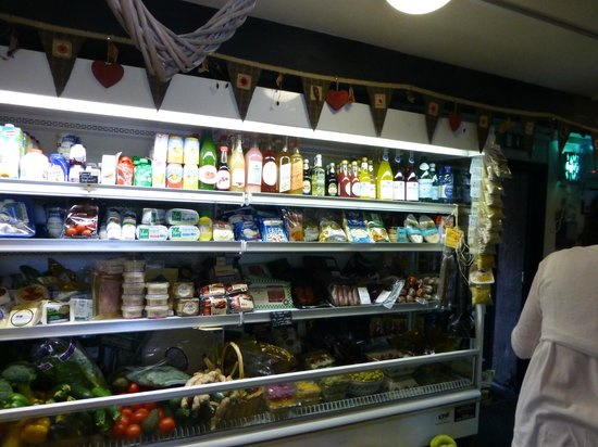 Glasrai Goodies: A sumptuous variety of  delicious local organic foods and drink