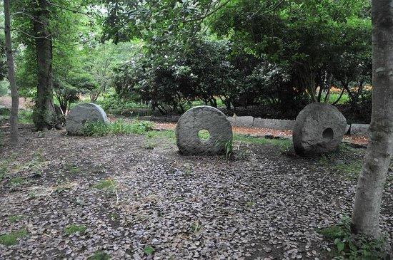 Spohr Gardens: Stone Statues