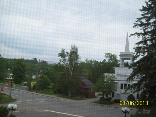 The Wentworth: View from room - cute Jackson Village