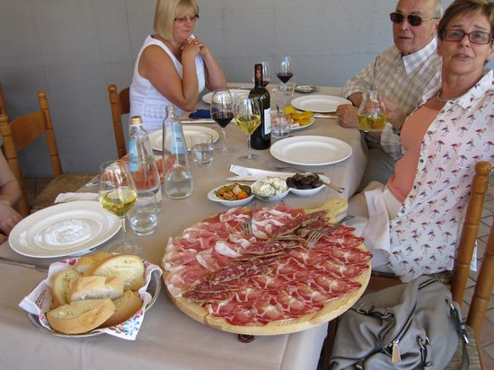 Trattoria Trinita: Just for starters !