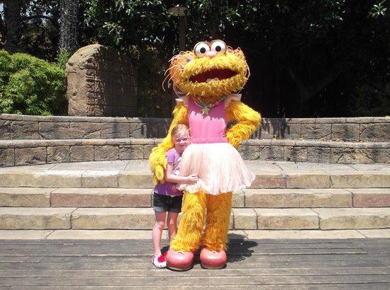 PortAventura Hotel Caribe: my girl with zoe