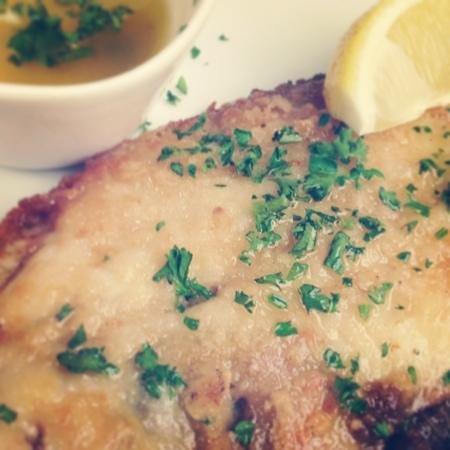 Zita Restaurant : Heerlijke sole meunière