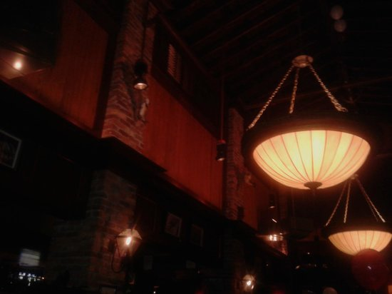 Pappadeaux Seafood Kitchen: lw luci si accendono.. la serata è finita
