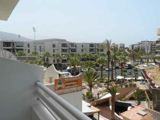 Coral California: View from balcony, room 411