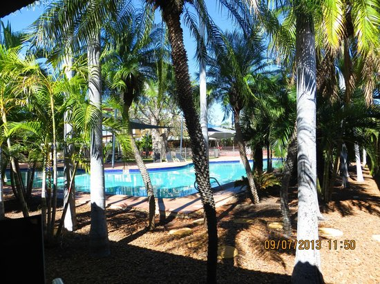 Mercure Broome: The pool is very very cold.