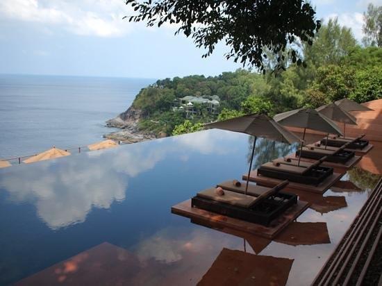 "Paresa Resort Phuket: La piscine ""commune"""