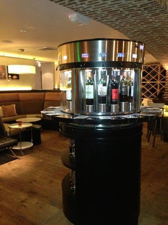 The Metropolitan : wine dispenser
