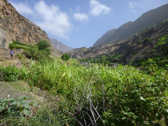 Marina d'Tarrafal Guesthouse: Paseo alrededores