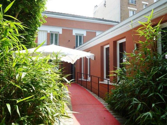 Villa9Trois : Entrée Villa 9 Trois