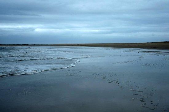 Areena Riverside Resort: The wild coast on a rainy morning (but still beautiful!)