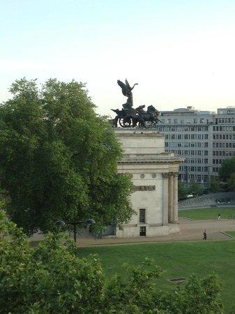 InterContinental London Park Lane: Ausblick vom Zimmer