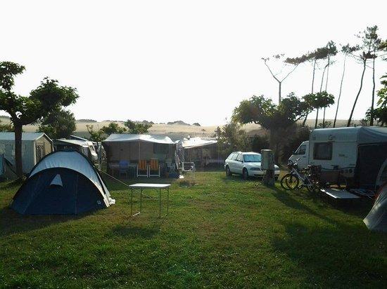 Camping Municipal Les Sableres: Camping a pie de duna.