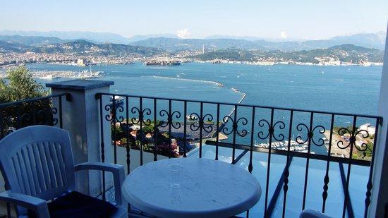 Le Ville Relais: Blick vom Balkon!