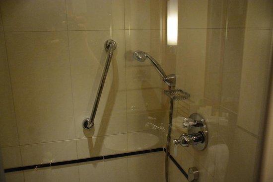 DoubleTree by Hilton Hotel Newcastle International Airport: bath shower