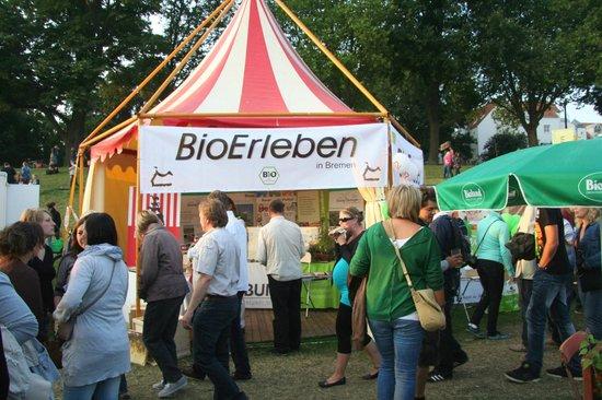 Breminale: Bio-Stand