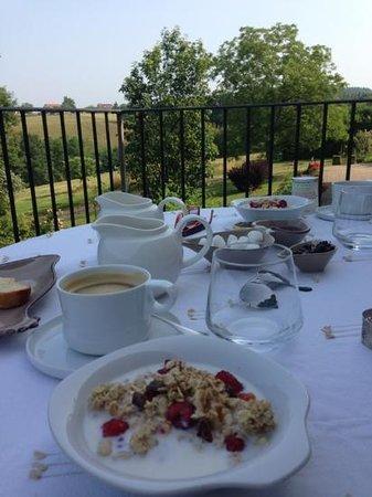 Maison d'Hotes Aux-Forets: magnifique petit dejeuner!
