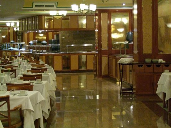 Hotel Riu Palmeras / Bung Riu Palmitos: Dining room for breakfast and dinner
