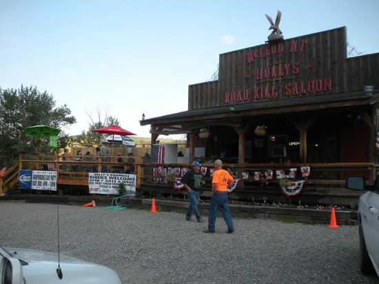 Holly's Road Kill Saloon: Fun and delicious stop south of Big Timber