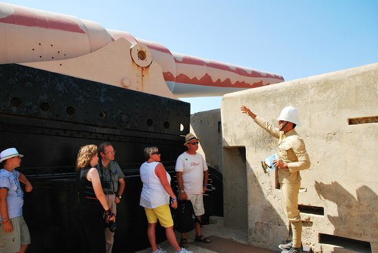 Fort Rinella: The Armstrong gun