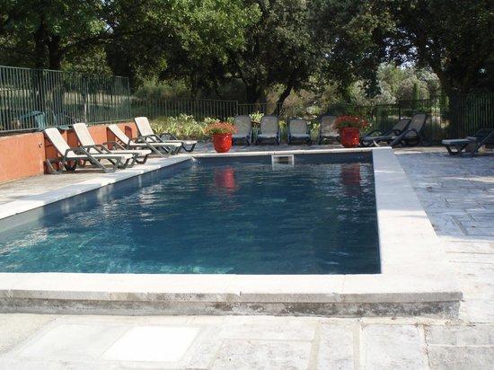 Le Mazet de la Gardy : piscine